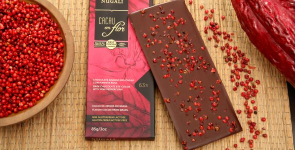 Nugali lança chocolate com pimenta rosa