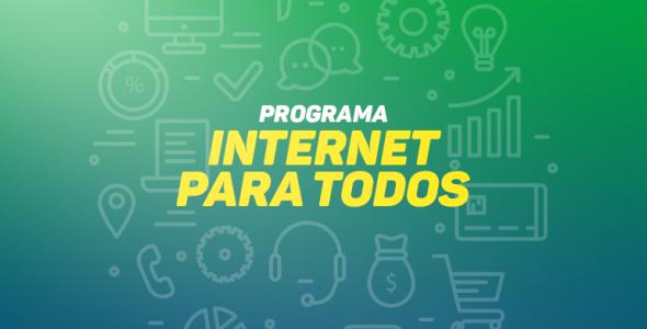 Mais de 120 municípios catarinenses aderiram o programa Internet para Todos