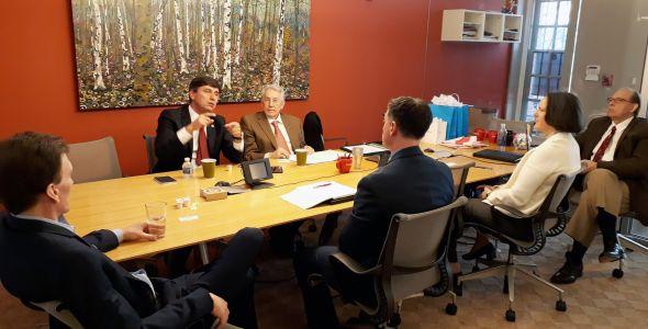 SENAI/SC firma parceria com entidades dos EUA na área de TI