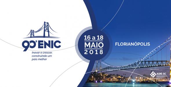 Florianópolis sedia o 90º Encontro Nacional da Indústria da Construção