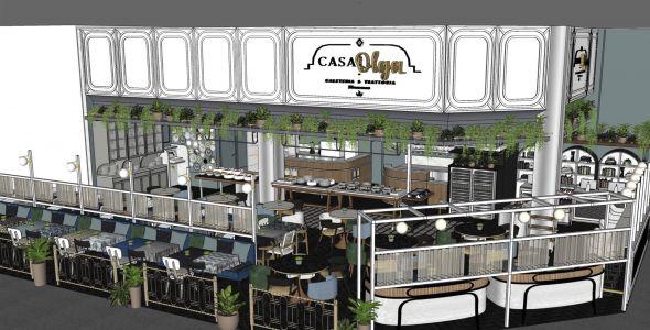 Restaurante Casa Olga será inaugurado em Blumenau