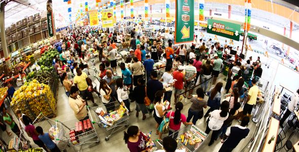 Supermercado Atacadão inaugura unidade de autosserviço em Blumenau