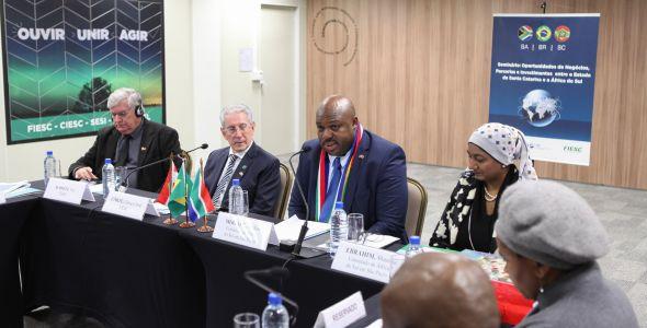 Santa Catarina e África do Sul buscam fortalecimento do comércio