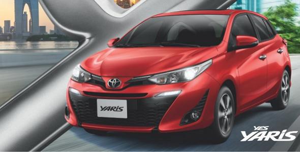 Toyota Yaris chega às lojas da concessionária Tarpan