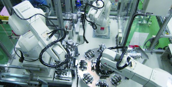 Mitsubishi Electric mostra soluções para melhorar desempenho de máquinas na indústria