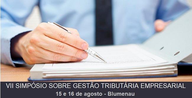 VII Simpósio Sobre Gestão Tributária Empresarial reúne time de especialistas