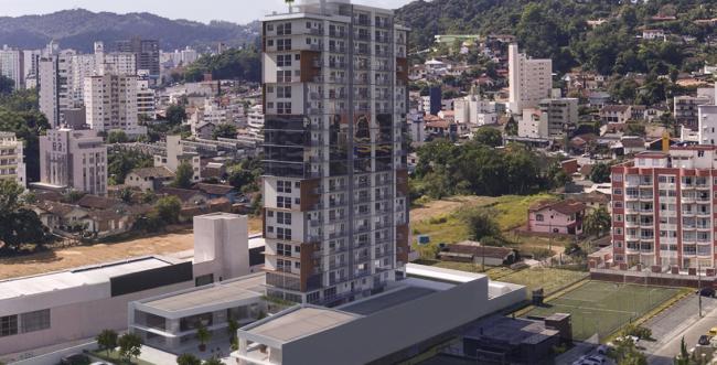 Construtora de Blumenau inova a venda de imóveis na planta