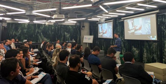 Cofundador da Movti apresenta palestra em evento do Google