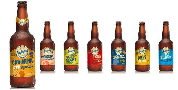 Cerveja Blumenau lança novo rótulo