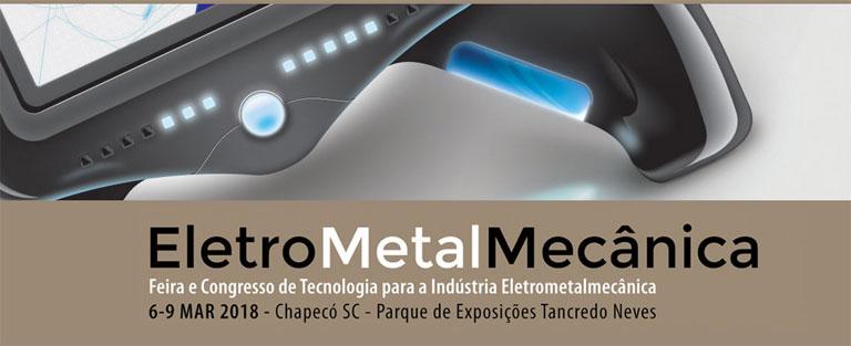 Feira de EletroMetalMecânica ocorrerá  em Chapecó no próximo mês