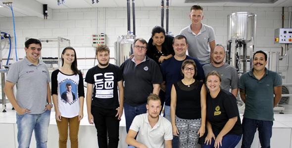 Curso de Engenharia de Produção Cervejeira iniciou nesta quarta-feira em Blumenau