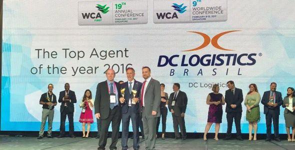 DC Logistics Brasil recebe dois novos prêmios internacionais