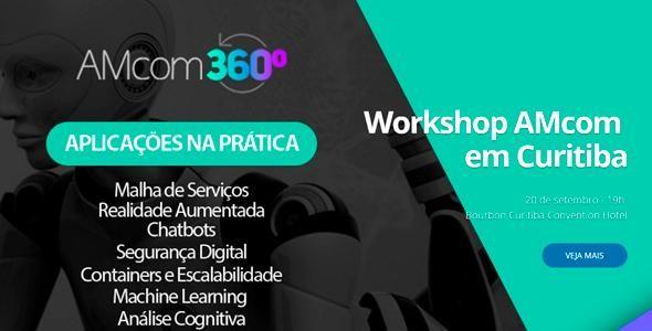 AMcom promove workshop gratuito de tecnologias inovadoras