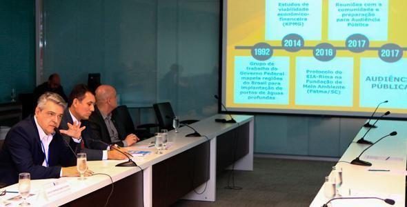 Conselho das Federações Empresariais manifesta apoio ao Porto Brasil Sul