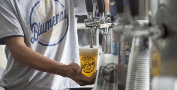 Cerveja Blumenau estreia na Sommerfest