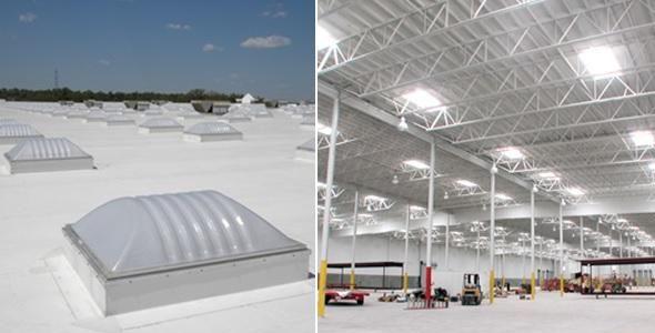 Domus iluminam ambientes de trabalho com luz natural e economia