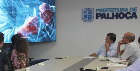 Projeto Inova Palhoça será modelo para outros municípios