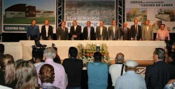 Solenidade marca a chegada da empresa Berneck em Lages