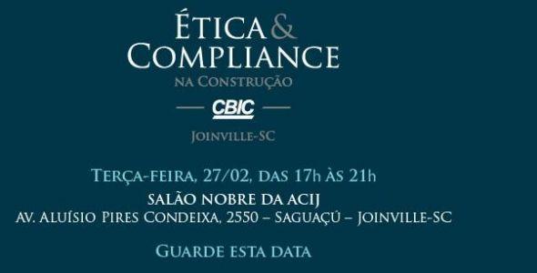 Indústria da construção civil debate combate à corrupção em Joinville