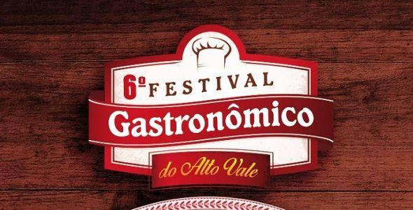 Festival Gastronômico do Alto Vale inicia nessa sexta-feira