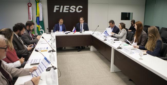 SC e Eslovênia buscam ampliação do comércio