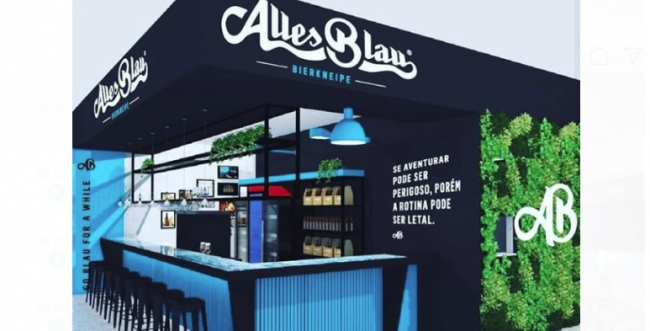Cervejaria Alles Blau vai inaugurar modelo piloto de franquia