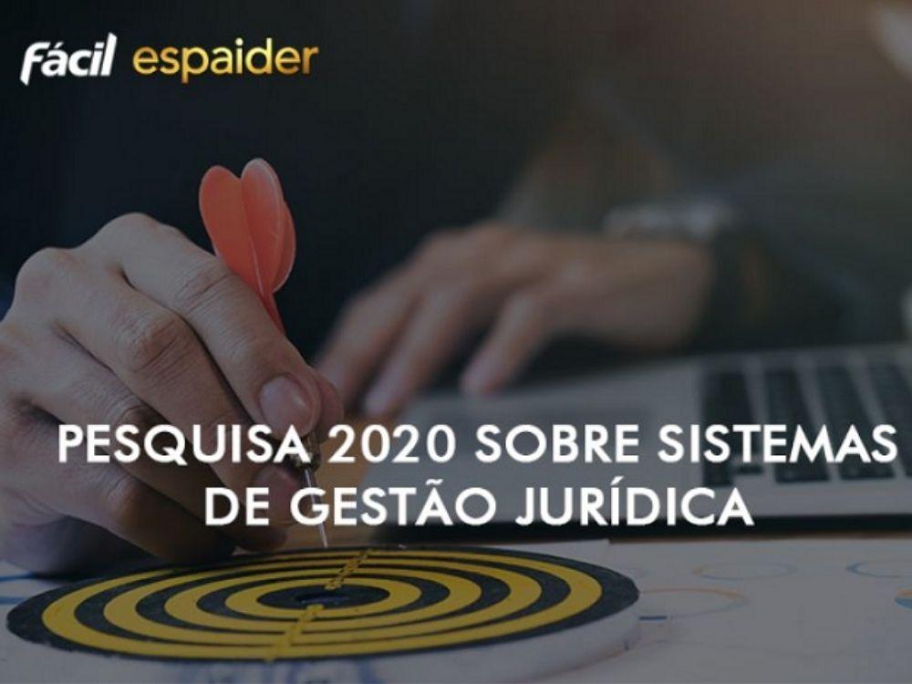 Pesquisa aponta liderança nacional do sistema de gestão jurídica Espaider