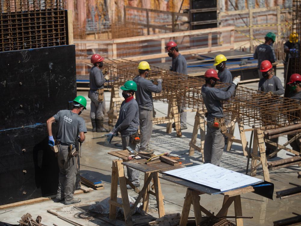 """Construtora joinvilense Daxo recebe selo de """"Obra mais segura"""""""