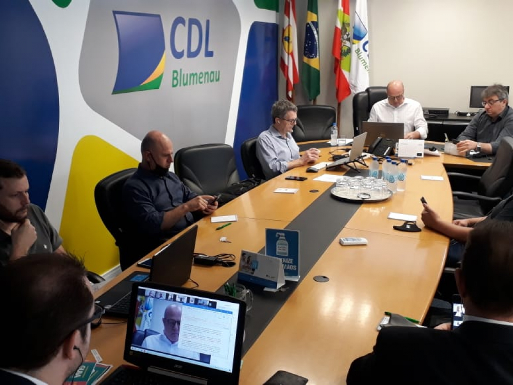Eleita nova diretoria da CDL Blumenau para o triênio de 2021 a 2023