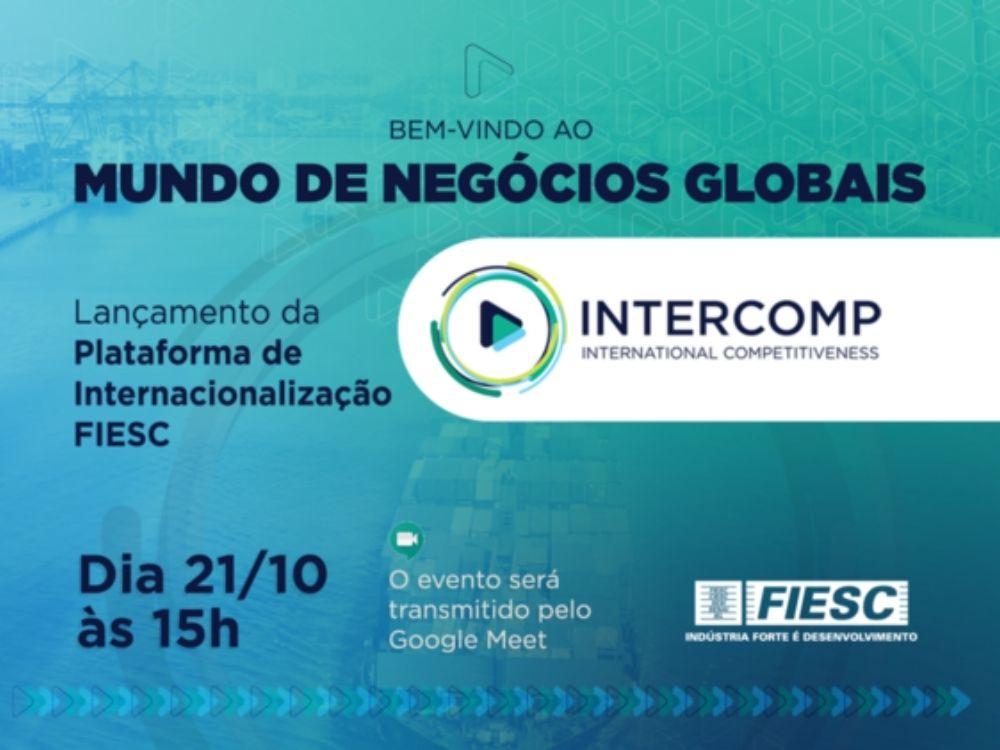 FIESC lança plataforma de internacionalização para a indústria