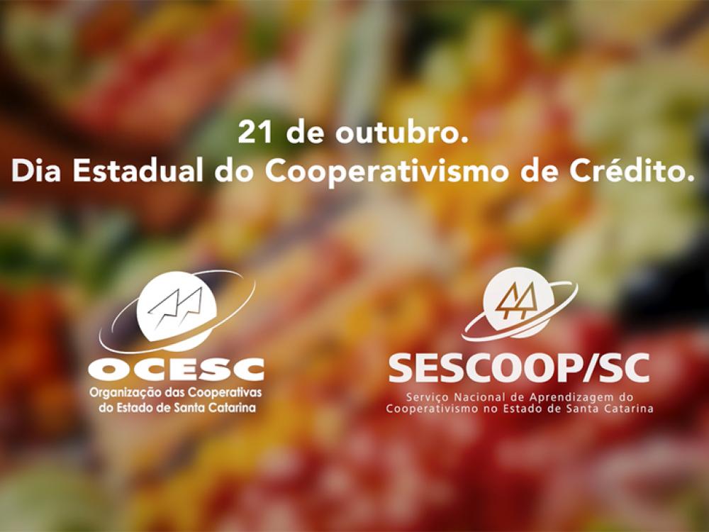 OCESC lança campanha em homenagem ao Dia Estadual do Cooperativismo de Crédito