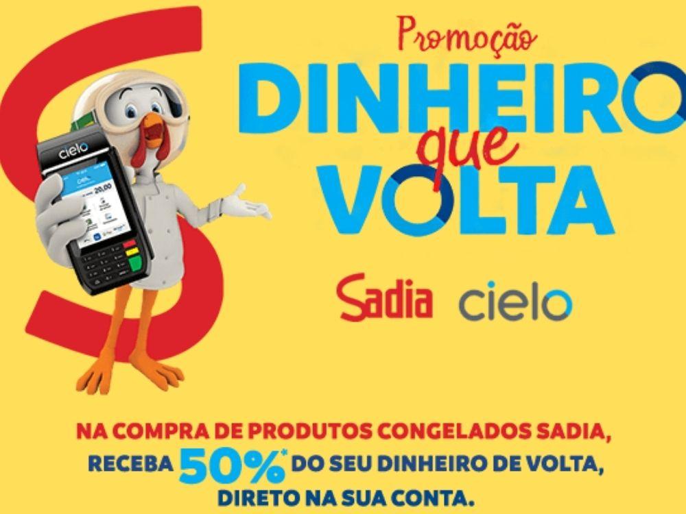Sadia e Cielo criam promoção com 50% de cashback