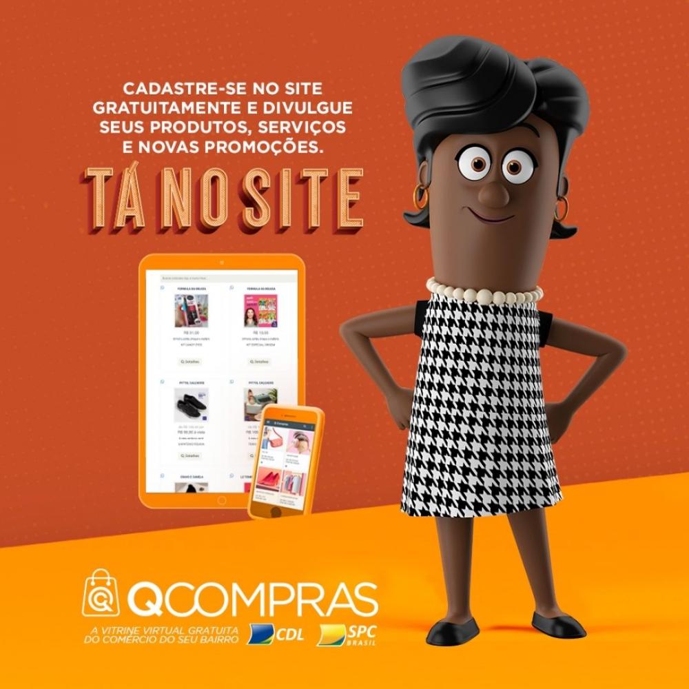 Plataforma virtual QCompras é aposta do comércio para Black Friday