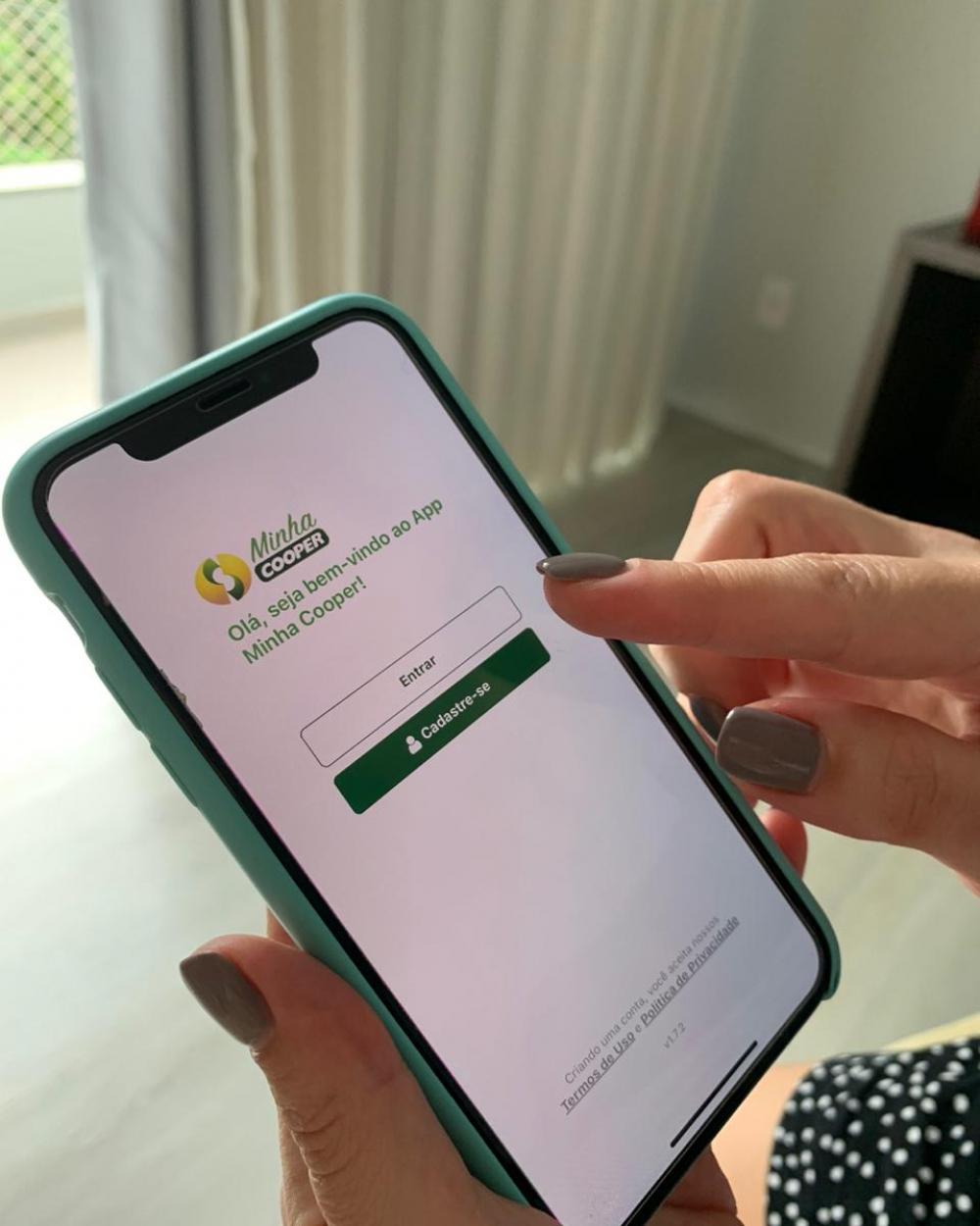 Cooper lança aplicativo que oferece ofertas especiais aos cooperados e clientes