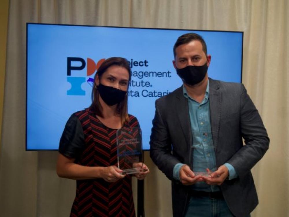 Escritório de Gestão de Projetos de Santa Catarina vence o Prêmio Melhores do Ano 2020 PMI-SC