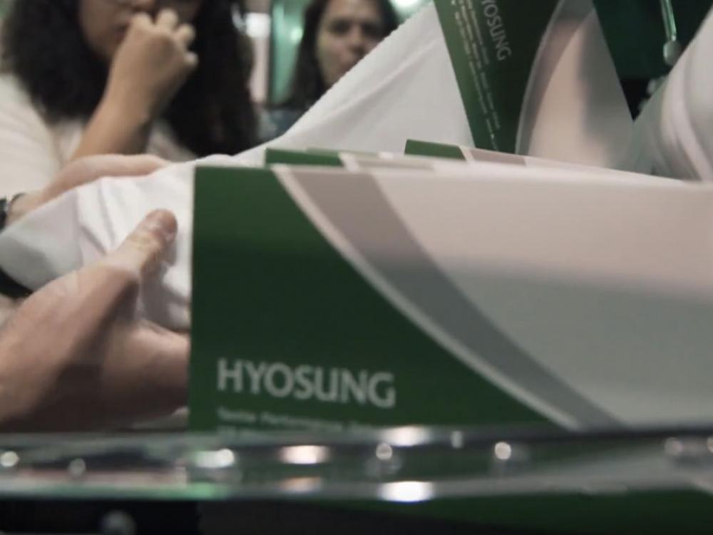 Hyosung anuncia plano de expansão para a produção de elastano creora® no Brasil