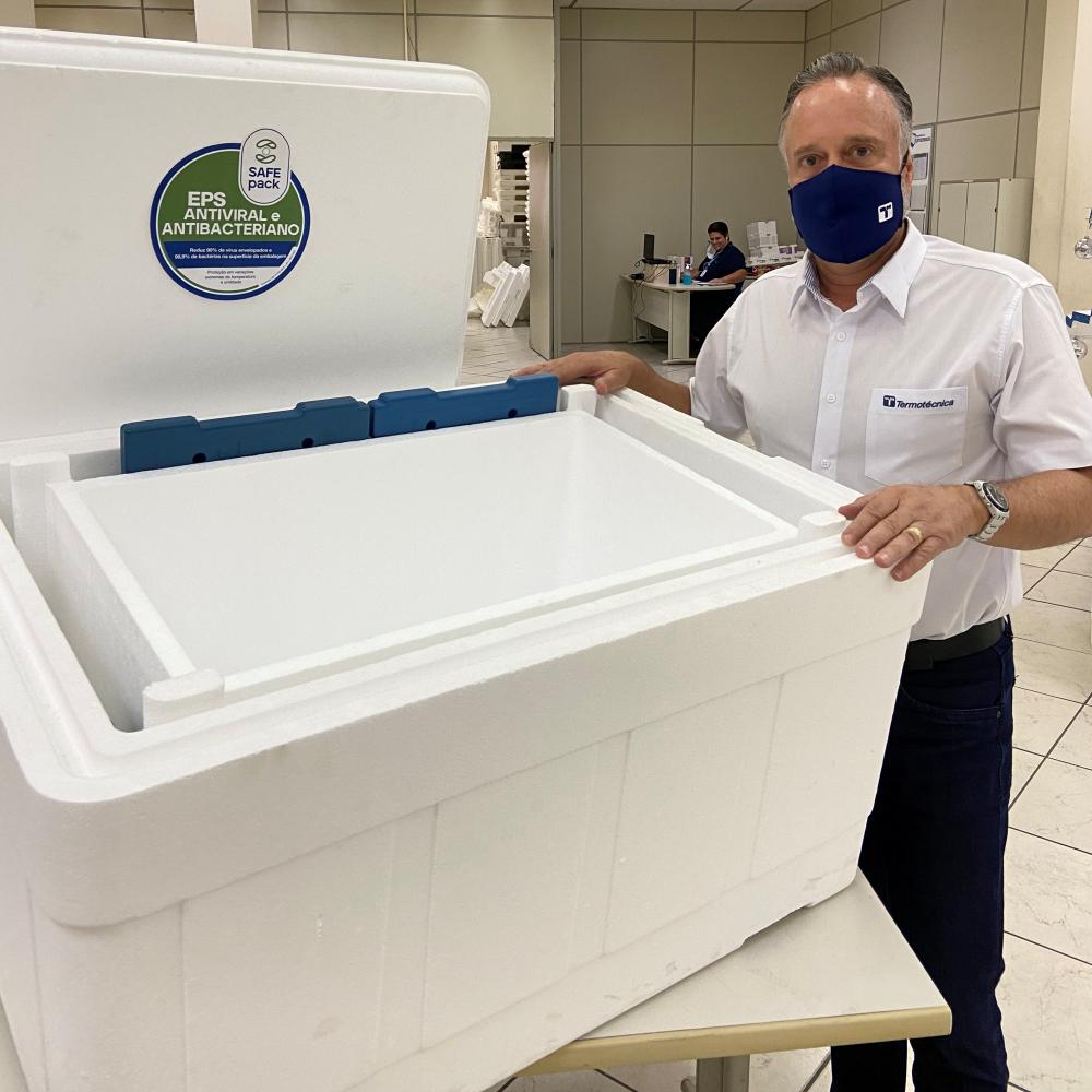 Termotécnica desenvolve embalagens para transportar vacinas contra a Covid-19