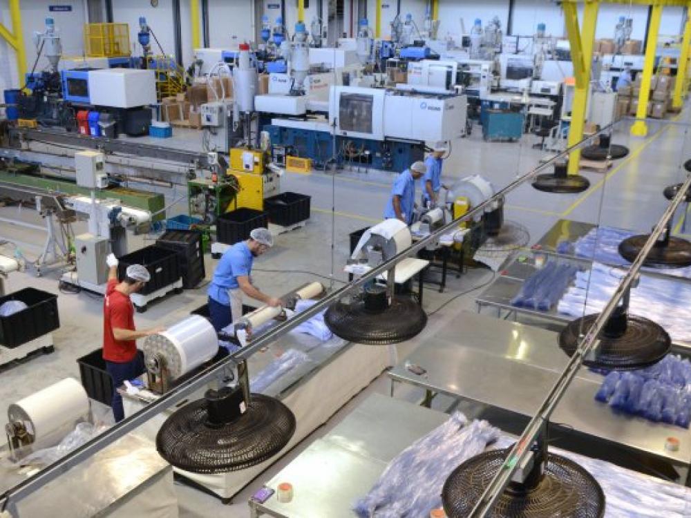 SC registra crescimento de 11,1% na produção industrial, o segundo maior do país