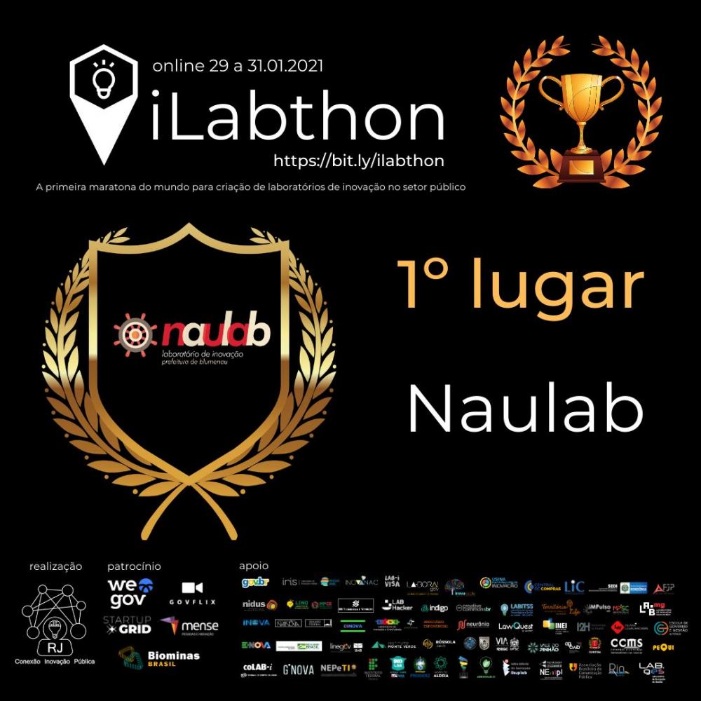 Laboratório de Inovação da Prefeitura de Blumenau vence concurso nacional