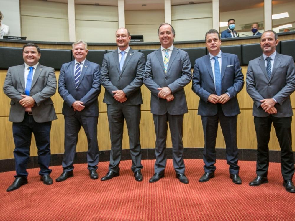 Deputado Mauro de Nadal é o novo presidente da Alesc