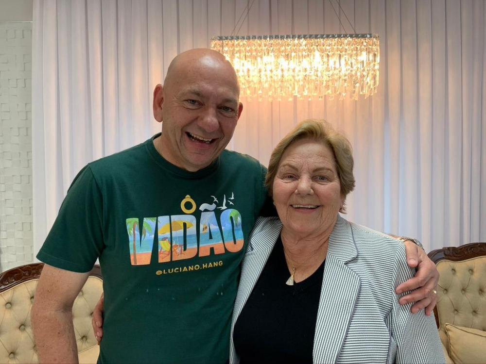 Mãe do empresário Luciano Hang morre aos 82 anos