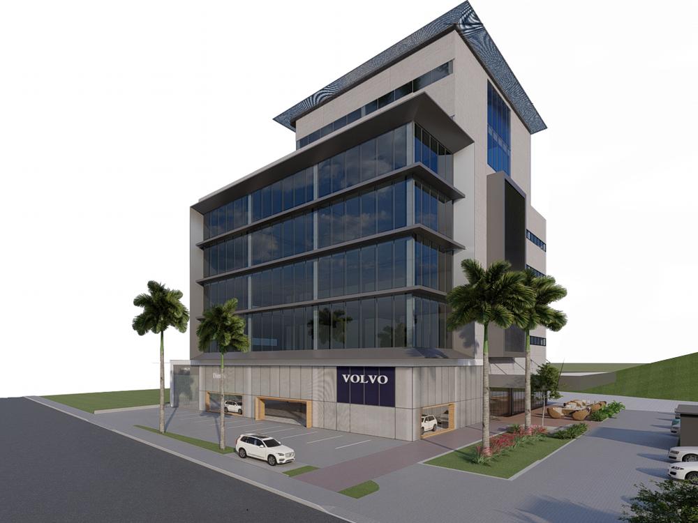 Blumenau recebe novo empreendimento corporativo com conceito construtivo diferenciado