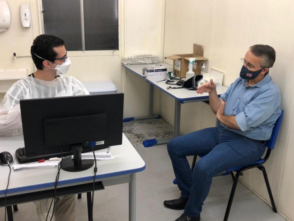 Prefeito Mário Hildebrandt testa positivo para Covid-19