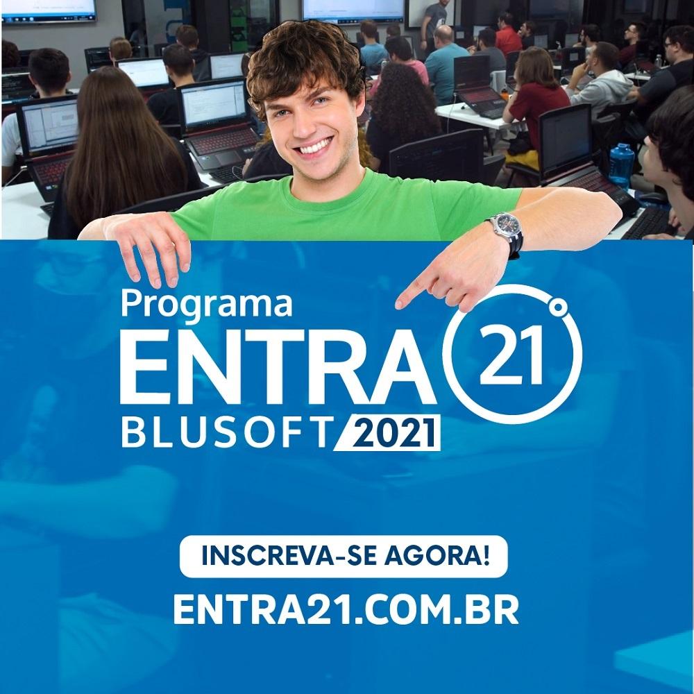 Entra21 movimenta empregabilidade no setor de TI e abre inscrições para edição de 2021