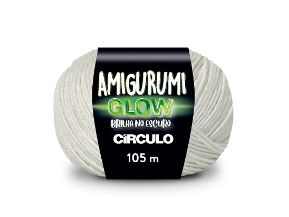 Fio que brilha no escuro para amigurumi é novidade da Círculo S/A