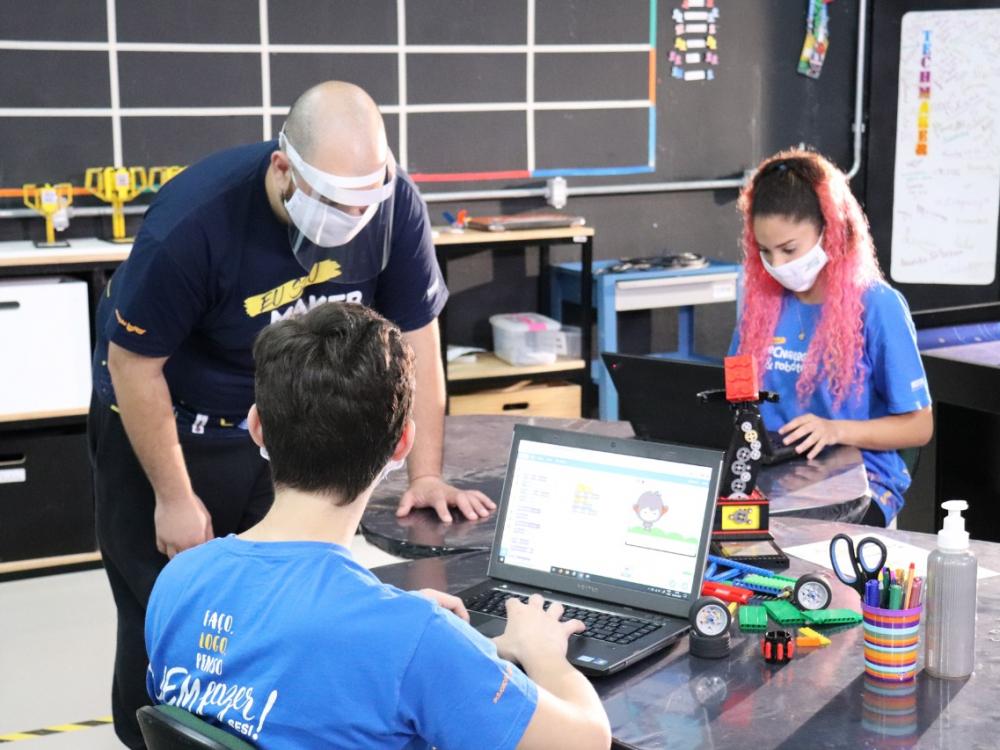TechMaker, equipe do SESI Blumenau, participa do Torneio de Robótica