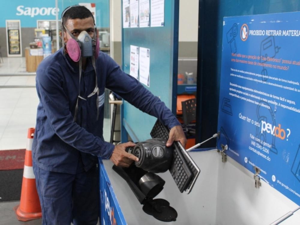 Altona participa do programa Acib Recicla com ponto de entrega de lixo eletrônico