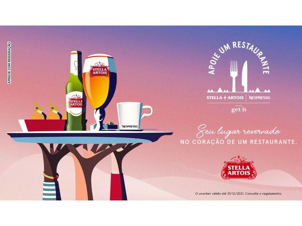 Stella Artois traz de volta para SC o movimento Apoie Um Restaurante
