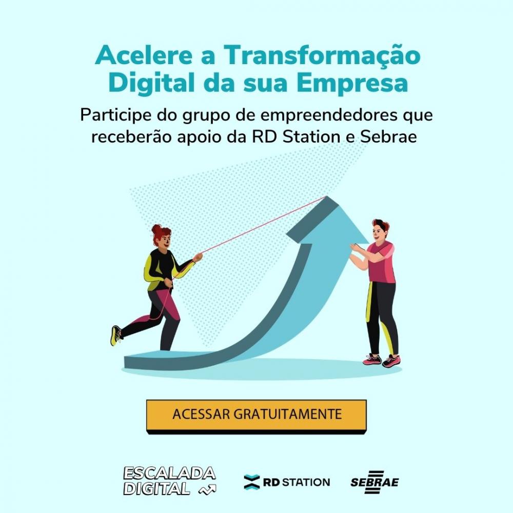 Parceria entre Sebrae e RD Station impulsionará a transformação digital de 100 mil pequenas empresas