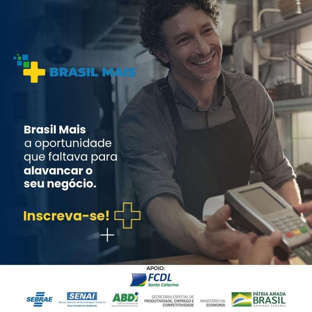 FCDL/SC firma parceria com o Programa Brasil Mais